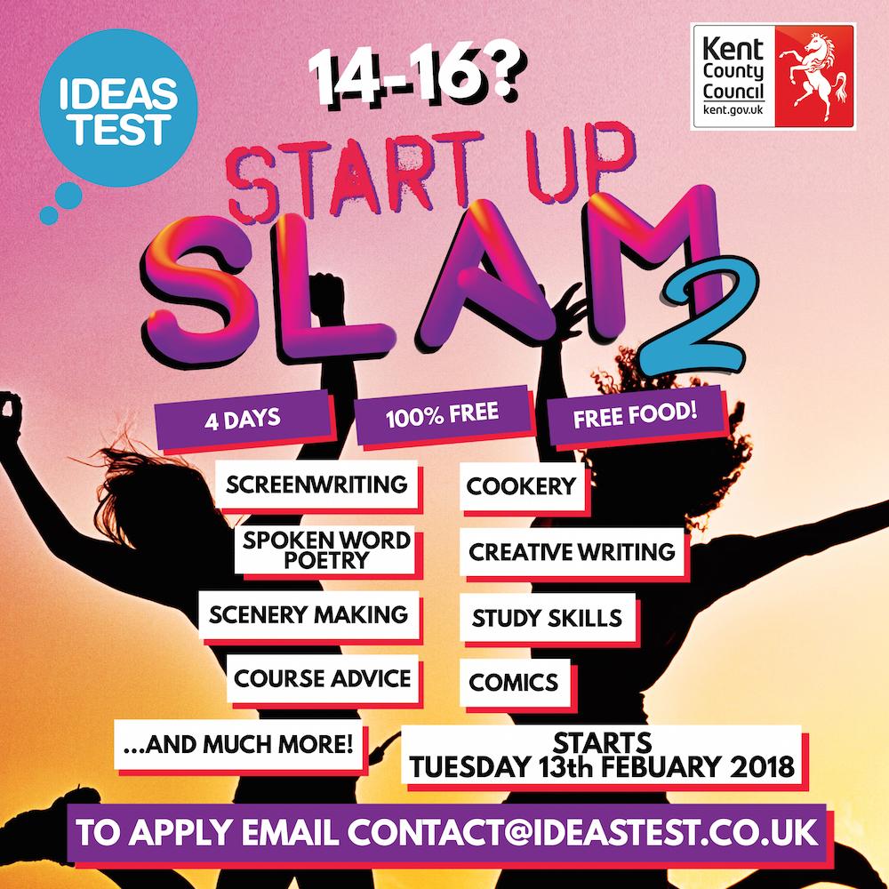 slam poetry – ideas test