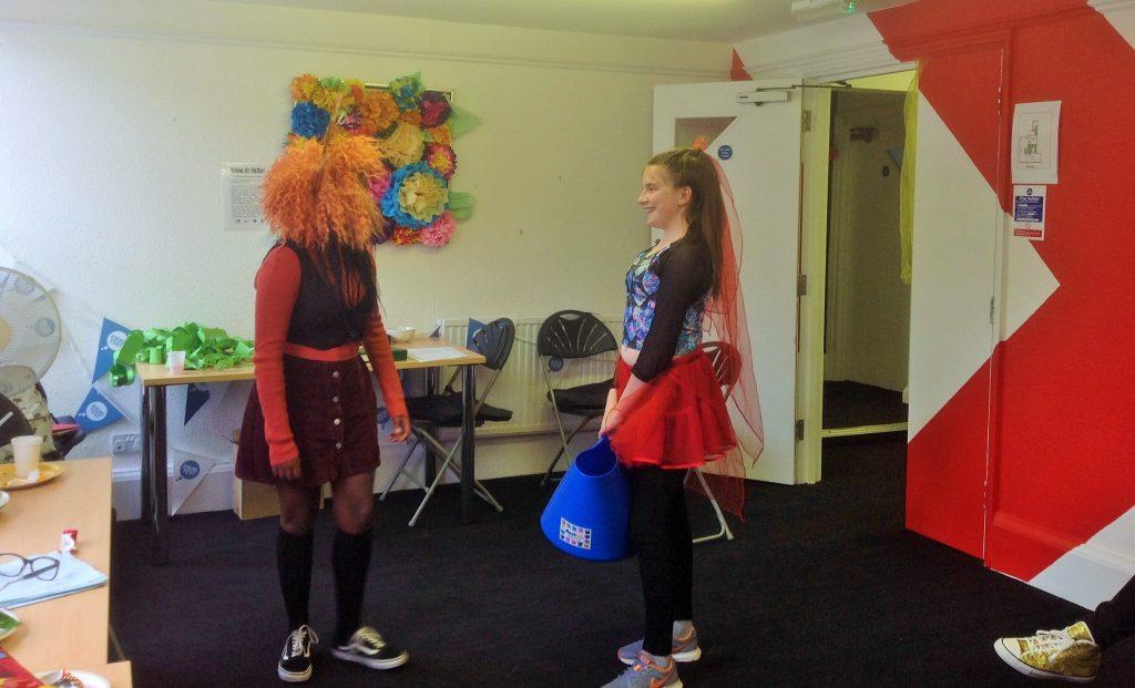 Reenacting fairy tales