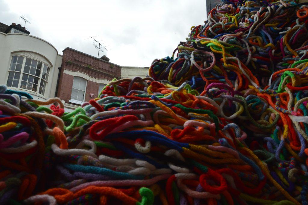 Installation of French Knitting