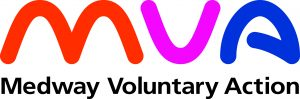 The logo for MVA