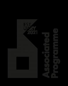 Image shows the Estuary 2021 Associated Programme logo